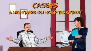 "EXPERT DISCOVERY presents the fifth episode of ""Forensica. Season One"" – ""Case №5.  A Nightmare on Hospital Street""."